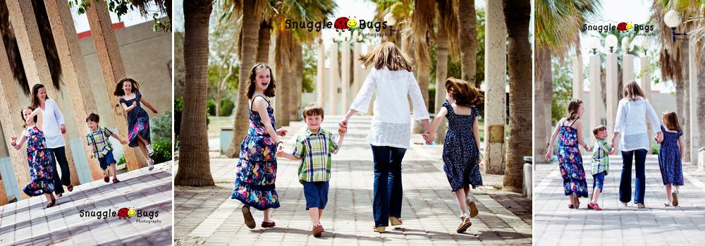 kids with mum
